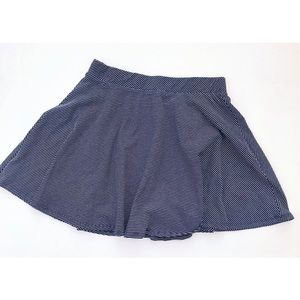 NWOT Striped Skater Skirt • Large